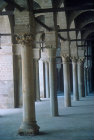 Cloister of Great Mosque, begun by Umayyads in 670 AD, Kairouan, Tunisia