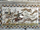 Hunting on horseback with dogs, Bardo Museum, Tunis, Tunisia