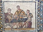 Dice players, Bardo Museum, Tunis, Tunisia