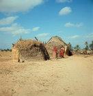 Bamboo dwelling, Island of Djerba, Tunisia