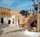 Courtyard of Berber Troglodyte dwelling, Matmata, Tunisia