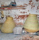 Grain storage baskets, Matmata, Tunisia