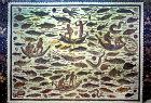 Fishing scene, third century, Roman mosaic, Sousse Museum, Sousse, Tunisia