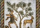 Deer hunt, Bardo Museum, Tunis, Tunisia