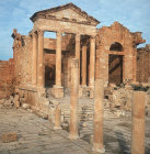 Temples of Jupiter and Juno, 138-61 AD, Sufetula, Tunisia