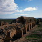 Tunisia, Roman aqueduct from Zaghouan to Carthage (60 miles) built 117-138 AD