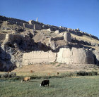 Turkey, Urartian Fortress at Van dating from the 8th century BC