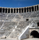 Turkey, Aspendos, Pamphylia, 2nd century Roman theatre