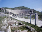 Theatre which seated 24,000, Ephesus, Turkey