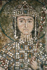 Turkey Istanbul Emperor Alexius Comnenus detail of the mosaic in the south gallery Hagia Sophia 11th century