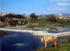 Temple of Artemis under water, Ephesus, Turkey