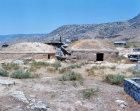 Turkey Hierapolis pair of tumulus tombs in the necropolis