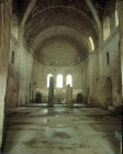 Interior of the Church of St Nicholas, early bishop of Myra, Turkey