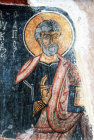 Turkey Cappadocia St Peter a mural in the Rock-cut Church of Eski Gumus or Old Silver
