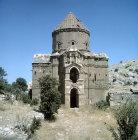 Turkey, Island of Achthamar on Lake Van, Armenian Church built for King Gagik, the south facade 915-921 AD