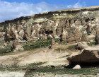 Turkey,  Cappadocia, rock-cut churches in the Zelve Valley