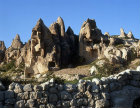 Turkey, Cappadocia, Goreme Valley, rock-cut churches