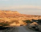Turkey, Cappadocia,  peasants returning home at sunset