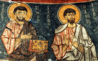 Saints Simon and James, twelfth century, monastery church of Eski Gumus, Cappadocia, Turkey