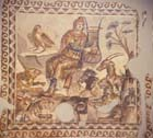 Orpheus and the beasts, 3rd century mosaic from Tarsus, Antioch, now in Hatay Archaeological Museum, Antakya, Turkey