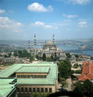 Turkey Istanbul the Suleymaniye Mosque built for Suleyman by the famous architect Sinan