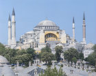Turkey, Istanbul, Hagia Sophia built by Justinian in 6th century