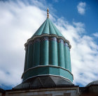 Turkey, Konya,  Tekke of Mevlana, cupola over the tomb