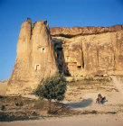 Turkey, Cappadocia, the rock-cut church at Cavusin called the Dovecote, dating from 963-969 AD