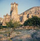 Turkey, Cappadocia, eroded Tufa formations