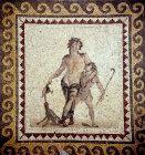 Drunken Dionysus, second century, mosaic from Antioch, Archaeological Museum, Antioch, Turkey