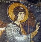 Turkey, near Nigde, the Monastery Church of Eski Gumus, 12th century AD,  Archangel Gabriel