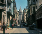 Galata Tower, built 1348, Istanbul, Turkey