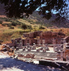 Turkey Ephesus Celcus Library built by Julius Aquila son of Celcus Polemeanus in 135