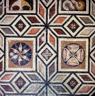 Mosaic pattern, Archaeological Museum, Antioch, Turkey
