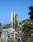 Turkey, Priene, Ionia, Temple of Athena 4th 2nd century BC