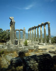 Turkey, Euromus, Caria, Anatolia, Temple of Zeus early 2nd century AD