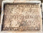 Turkey Ephesus  a Roman gaming table