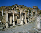 Turkey Ephesus the Temple of Hadrian