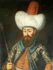 Sultan Murad II, 1421-1451, portrait in the Topkapi Palace Museum, Istanbul, Turkey