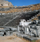 Turkey Miletus Theatre dating from Hellenistic period