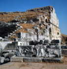 Turkey Miletus part of the Theatre