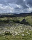 Great Temple of late bronze age Hittite capital, Hattusas, Bogazkoy Turkey