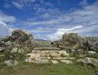 Great Temple of late bronze age Hittite capital, Hattusas, Bogazkoy, Turkey