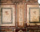 Turkey Ephesus Cherubs a mural in a Roman Villa