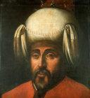 Sultan Osman I, 1288-1326, portrait in the Topkapi Palace Museum, Istanbul, Turkey