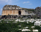 Turkey Miletus the theatre started in the Hellenistic era seated 15000