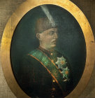 Sultan Murad V, 31st May 1876-31st August 1876, portrait in the Topkapi Palace Museum, Istanbul, Turkey