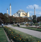 Turkey Istanbul Hagia Sophia built by Justinian in the 6th century
