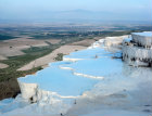 Turkey Pamukkale ancient Hierapolis St Philip was martyred here