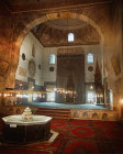 Turkey, Bursa, Yesil Cami interior of early 15th century mosque